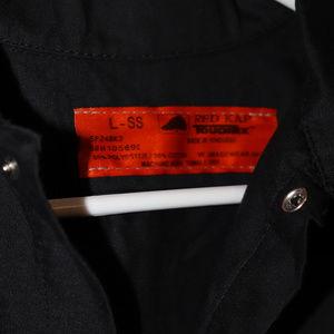 red cap Shirts - Lynyrd Skynyrd Eagle Truck Button Work shirt L